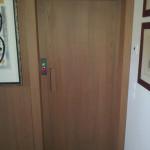porta rivestita legno